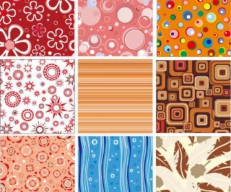 Vector Abstract Set Background Vector Art