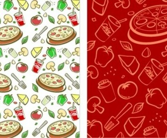 Vector Lovely Series Material 3 Background Vector Art