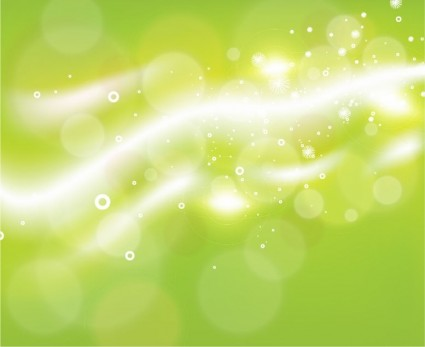Bokeh Background Vector Freebies Vector Green Bokeh