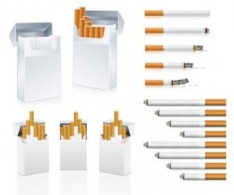 Vector Cigarette Clip Vector Art