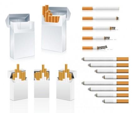 Free Vector Art & Vector Graphics - Free vector Vector Cigarette Clip ...