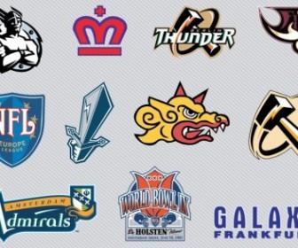 Vector Football Logo Graphics Vector Art