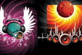 Vector 2 The Trend Of Musical Elements Vector Art