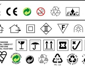 Vector To Do A Design Often Used In Environmental Standards Such As Ce Trash Icon Vector Graphics