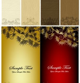Vector Pattern Tag And Vector Banner