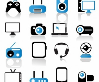 Vector Multimedia Device Icons Icon Vector Graphics