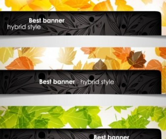 Vector A Variety Of Topics Banners 04 Vector Banner