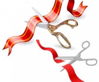 Vector 2 Ribbon Clip Vector Art