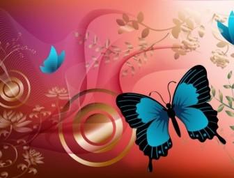 Vector Butterfly Graphics Vector Art