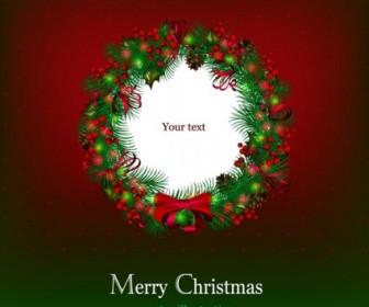 Vector Beautiful Christmas 02 Background Vector Art