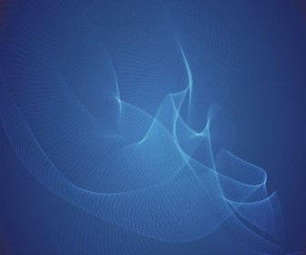Vector Blue Wave Illustration Abstract Vector Graphics