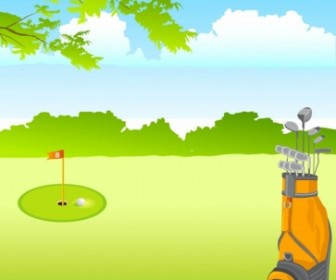 Vector Golf Vector Art