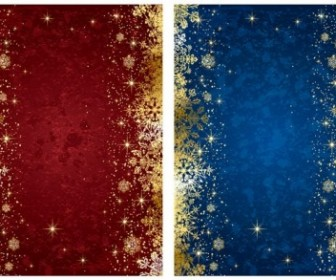 Vector Exquisite Christmas Background Vector Art