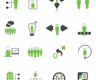 Vector Human Resource Management Icons Icon Vector Graphics