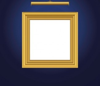 Vector Beautifully Ornate Picture Frame 04 Pattern Vector Art