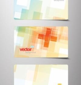 Vector Beautiful Card Template 02 Vector Art