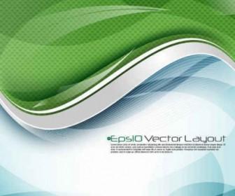 Vector Stream Line Background Vector Art