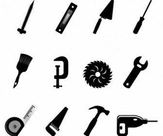 Vector Construction Icons Icon Vector Graphics