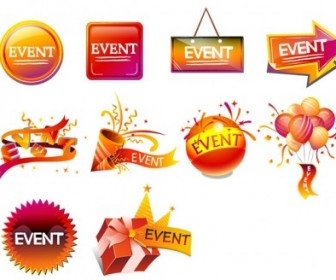 Vector Festivals Sales Icon Vector Graphics