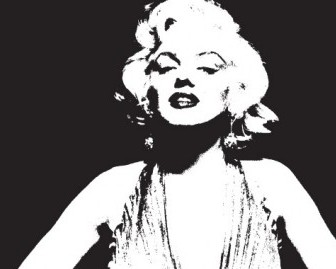 Vector NixVex Marilyn Monroe Vector Art