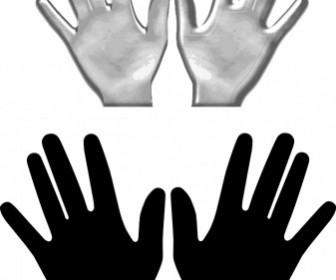 Vector Hands Vector Clip Art