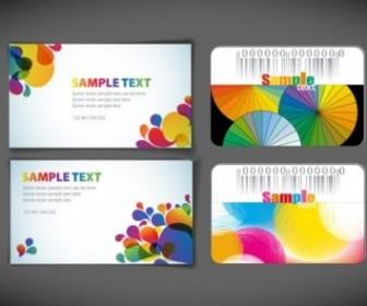 Vector Symphony Card Template Vector Art