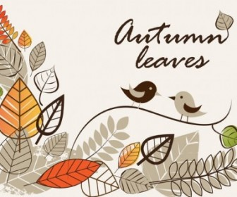 Vector Autumn Illustrations 1 Vector Clip Art