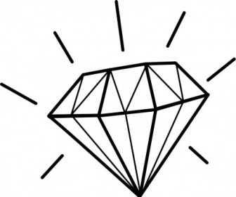 Vector Diamant / Diamond Vector Clip Art