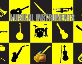 Vector Musical Instruments Vector Art