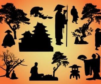 Vector Oriental Graphics Vector Art