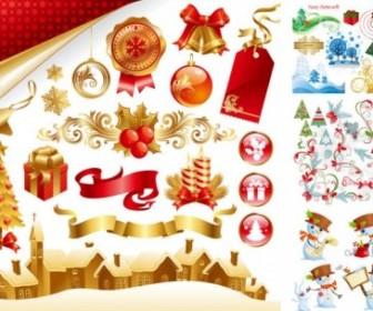 Vector Late Beautiful Christmas Vector Graphics