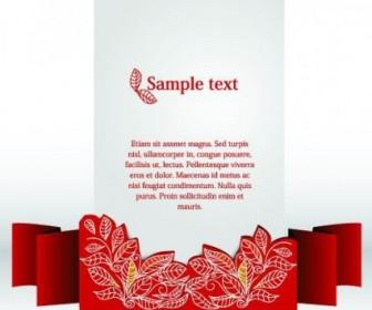 Vector Clip Style Text Template 2 Vector Art