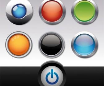 Vector Button Set Web Design Vector Graphics