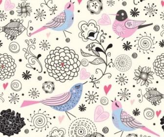 Vector Elegant Pattern Illustrator 01 Background Vector Art