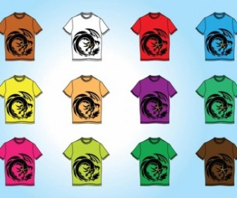 Vector TShirt Templates Vector Art