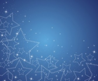 Vector Sparkle Star Background Vector Art