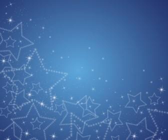 Vector Sparkle Star Background Vector Art