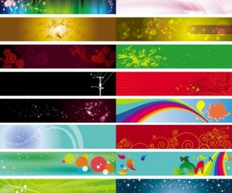 Vector Background Beautiful Pattern Vector Banner