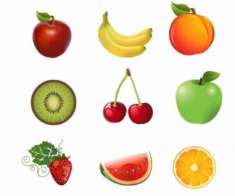 Vector Juicy Fruit Vector Art