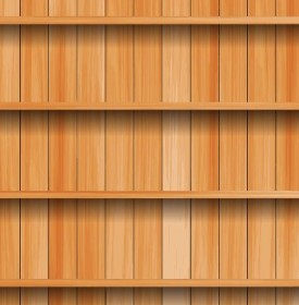 Vector Wood Texture Background Vector Art