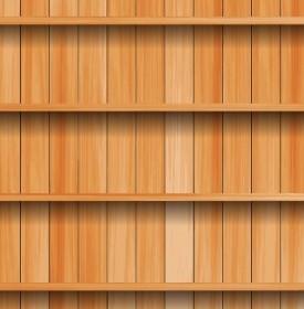 Vector Wood Texture Background Vector Art