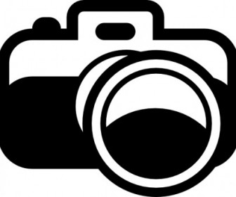 Vector Camera Pictogram Vector Clip Art