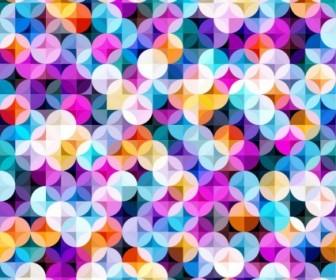 Vector Multicolored Seamless Pattern Vector Art