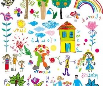 Vector Children39s Illustrator 01 Cartoon Vector Art