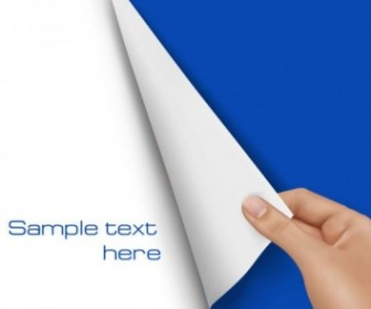 Vector Blank Paper 02 Vector Art