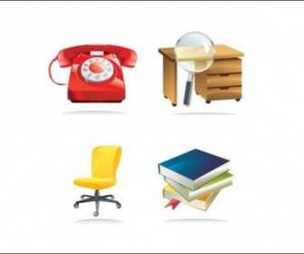 Vector Office Icons Icon Vector Graphics