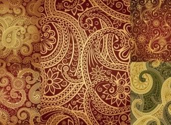 Vector India Ham Pattern Vector Art