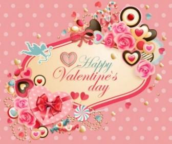 Vector Valentine Labels Heart Vector Art