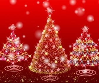 Vector Tree Christmas Vector Graphics