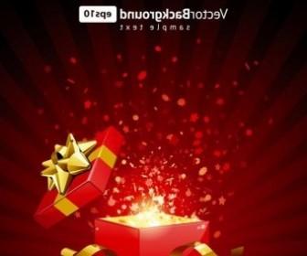 Vector Open The Gifts Vector Art